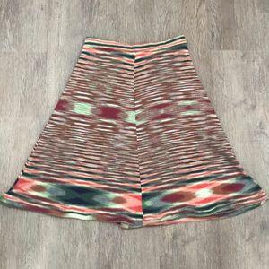 """Vintage 70's """"Missoni"""" print skirt"""